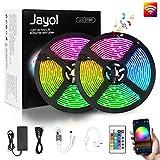 Jayol RGB LED Streifen Kit,10m, 16 Millionen...