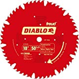 Freud D1050X Diablo 10' 50-tooth ATB Combo Saw Blade w/5/8' Arbor&PermaShield