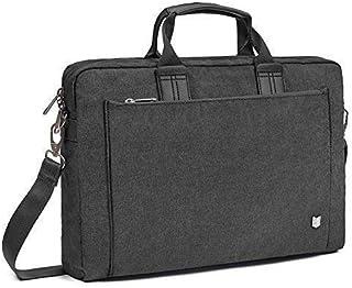 Evecase City 15-15.6 inch Laptop Briefcase Messenger Bag, Professional Water Resistant Business Laptop Shoulder Bag for Apple ASUS Acer Samsung Dell Lenovo Chromebook Ultrabook and More (Gray)