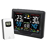 Best Home Weather Stations - Myhoomowe Weather Station with Outdoor Sensor Wireless Digital Review