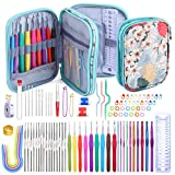 Best Crochet Hooks - 96 Pack Crochet Hooks Set, Ergonomic Knitting Needle Review