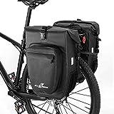 LYCAON Sacoche de vélo Sacoches Porte-Bagages TPU Sacoche de Rangement pour vélo...