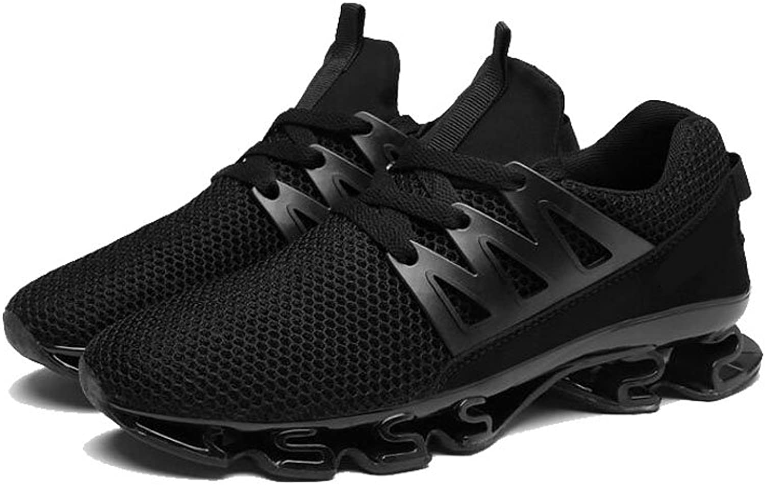 1a2bbbed9d28 OGOUGUAN Fashion Sneakers Fashion Runners Trail Breathable Mesh Mens ...