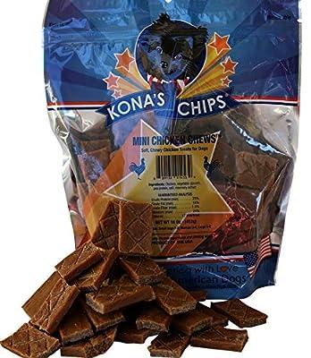 KONA'S CHIPS Mini Chicken Chews (16 oz)