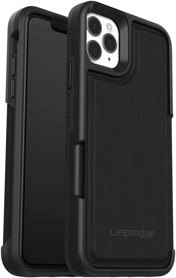 LifeProof FLIP SERIES Wallet Case for iPhone 11 Pro Max - DARK NIGHT (BLACK/CASTLEROCK)