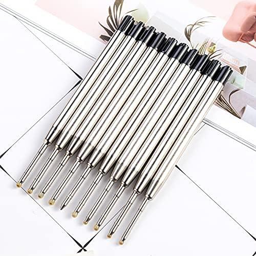 6 pack - TikiPen BLACK Compatible Ballpoint Pen Seasonal Wrap Introduction Refills. Wholesale Parker