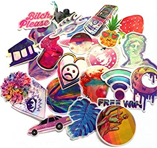 70Pcs 2019 The Best Cartoon Fantasy Colorful Sticker Dazzle for Snowboard Luggage Car Fridge Car- Styling Laptop Stickers