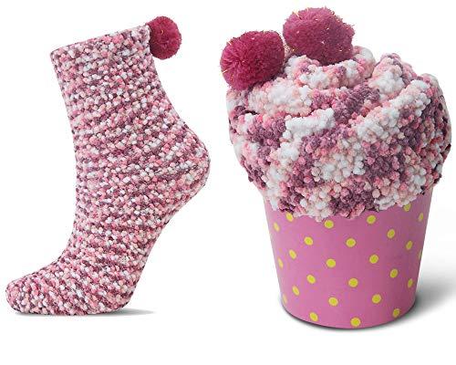 2 Caja Regalo Navidad Calcetines Dia de san Valentin Super Suaves Cóm