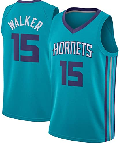 Maillot Kemba Walker, n ° 15, Charlotte Hornets, 15  Kemba Walker, Maillot de Basket-Ball Classique sans Manches, Unisexe - Les Fans doivent AbsoluHommest