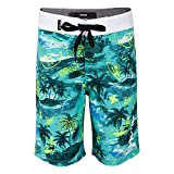 Hurley Boys' Big Classic Board Shorts, Tropical Doodle, 18