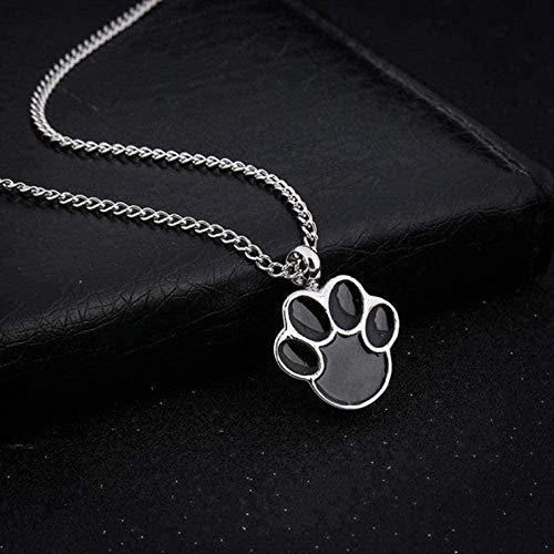 YOUZYHG co.,ltd Collar de Ceniza de Cristal Collar con Colgante de Hueso para Mascotas para joyería de Mujer