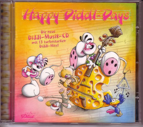 Happy Diddl-Days / Die neue Diddl-Musik-CD mit 13 turbostarken Diddl-Hits