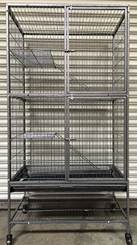 Mcage Extra Large Two Story Small Animal Cage for...