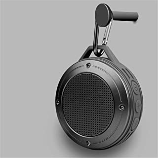 $278 » LKYBOA Wireless Bluetooth Speaker Small Speaker Large Volume bass Portable Small Speaker car Outdoor (Color : Gray)