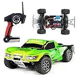 Coche Teledirigido, Todoterreno Teledirigido Deriva De Alta Velocidad 4WD 50 Km/H, RC Offroad Buggy Mando A Distancia De 2,4 GHz 1:18 Mejores Regalos para NiñOs
