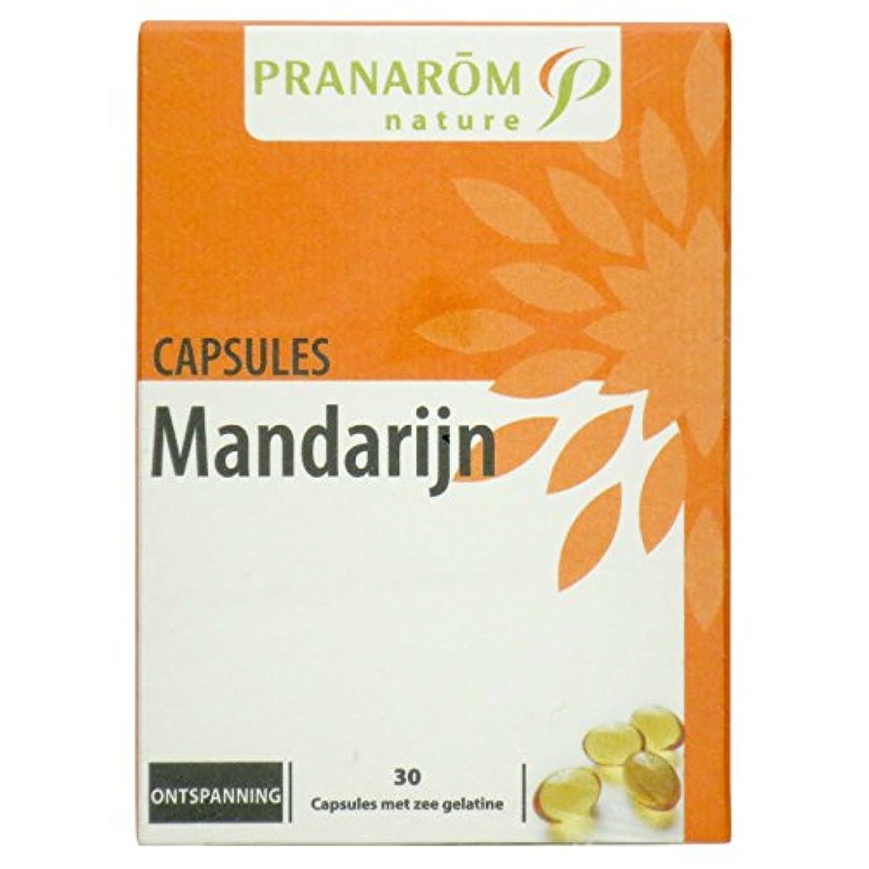 麻痺資金大プラナロム マンダリンカプセル 30粒 (PRANAROM サプリメント)