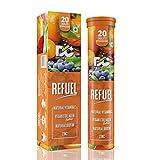 DOCTORS CHOICE Refuel Natural Vitamin C & Zinc Tablets 1000mg | Vegan Collagen