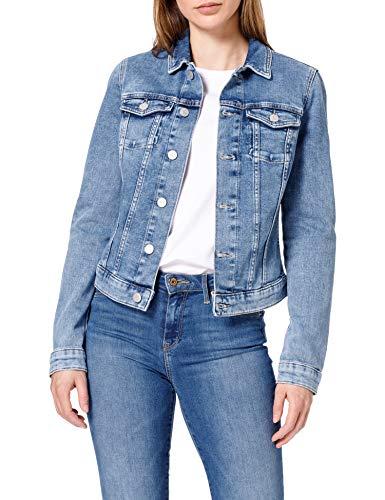 Tommy Jeans Women's Vivianne Slim Denim Trucker NLBS Jacket, Nancy Lb Str,...