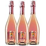 Casaleggio Brut Sparkling Rosé Torti Organically Cultivated Hand Harvested Grapes - Wine Award Winning Estate