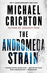 Books Set In Arizona: The Andromeda Strain (Andromeda #1) by Michael Crichton. Visit www.taleway.com to find books from around the world. arizona books, arizona novels, arizona literature, arizona fiction, best books set in arizona, popular books set in arizona, books about arizona, arizona reading challenge, arizona reading list, phoenix books, tucson books, arizona books to read, books to read before going to arizona, novels set in arizona, books to read about arizona, arizona authors, arizona packing list, arizona travel, arizona history, arizona travel books
