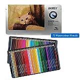 72 matite colorate morbide Acquerello Lapis de Cor Professionale 72 Core Non tossico Set di matite colorate Senza Piombo Forniture artistiche