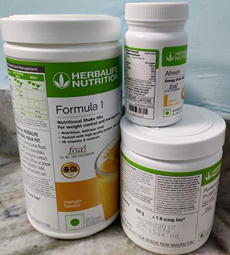 herbalife F 1 Mango F 3 Protein Powder And Afresh Lemon
