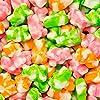 Albanese World's Best Sherbet Gummi Bears, Orange, Lime, Strawberry, 9 Oz #1