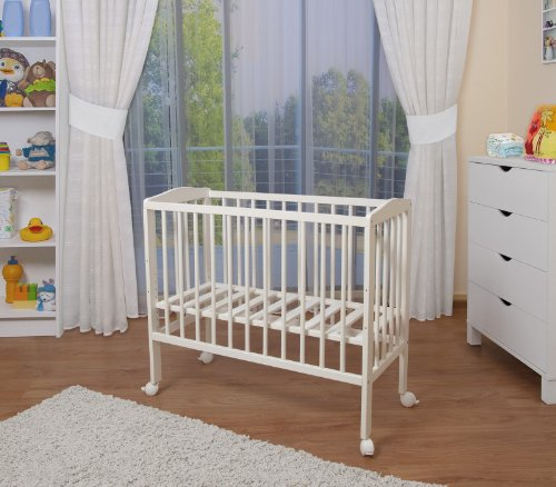 WALDIN Lit cododo berceau tout équipé pour bébé,bois blanc laqué,16 modèles...
