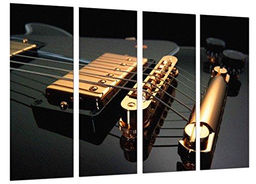 Cuadros Cámara Cuadro Fotográfico Musica, Instrumento Guitarra Gibson, Rock, Multicolor, 131 x 62 cm XXL