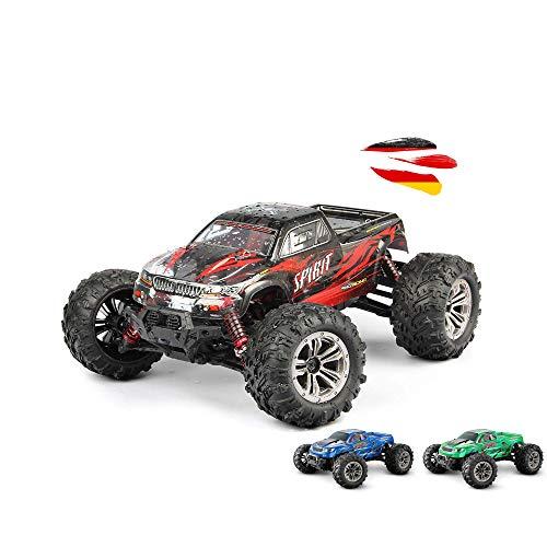 GoStock Ferngesteuertes Auto 4WD 1:16 RC Auto Off-Road Monstertruck Buggy mit 36km/h Alles Gelände Funkfernsteuerung Rennwagen RC Crawler Spielzeug Geschenk für Kinder und Erwachsene