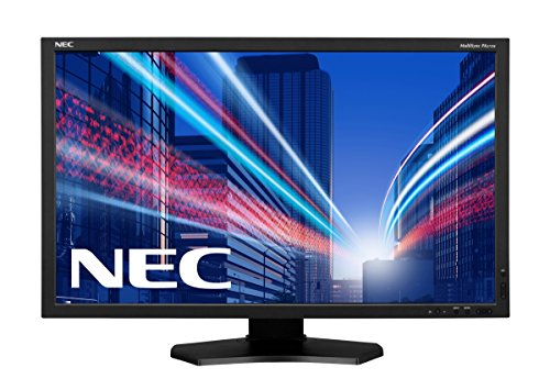 NEC Multisync PA272W 68,5cm 27Zoll LED Display AH-IPS LED Backlight 16:9 350cd 1000:1 6ms analog+digital Display Port schwarz