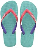 Havaianas Top Mix, Chanclas Unisex Adulto, Multicolor (Lake Green/Flamingo), 41/42 EU