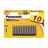 Panasonic 2380 - Paquete de pilas alcalinas AAA (1,5 V)