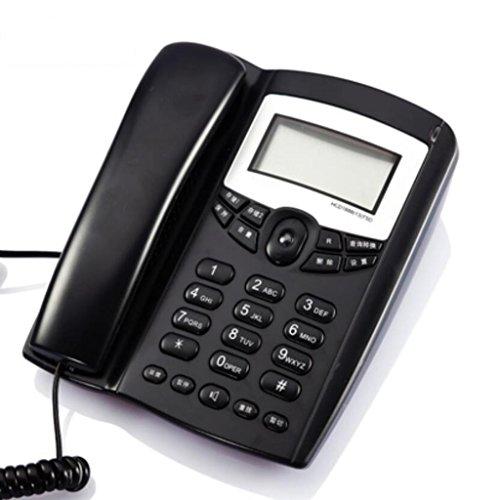 Téléphone Liuyu · Maison de Vie Identification de l'appelant Fixe Bureau Ménage Fixe (Color : Blue)