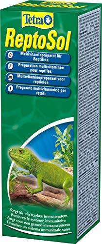 Tetra ReptoSol 50 ml - Alimento complementario para todos los reptiles