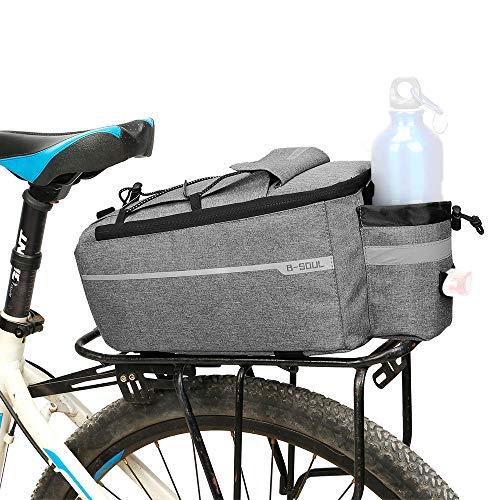 Lixada fiets bagagedragertas, fietstoel, multifunctionele geïsoleerde koeltas, schoudertas, 29 x 16 x 17 cm