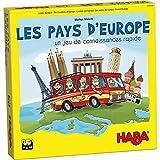 HABA Pays d'Europe-Jeu de Connaissances géographiques-8 Ans et Plus, 304533