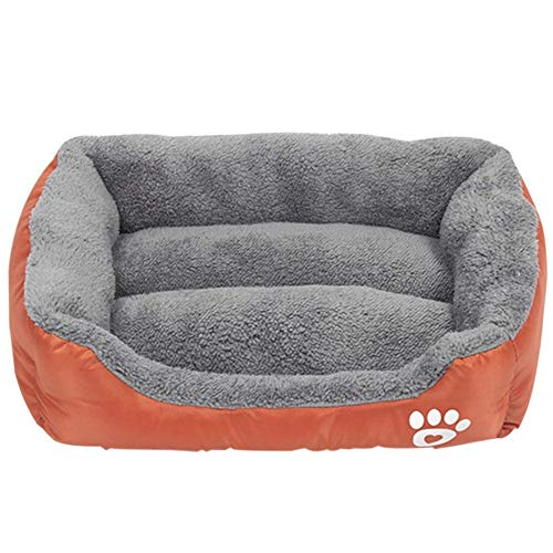 Zwinger Hundebett Plush Dog Bed Mat Dog Kennel Soft Cozy Bed for Small Medium Large DogHouse Pet Supplies Dropshipping S-XL XL Jujubered