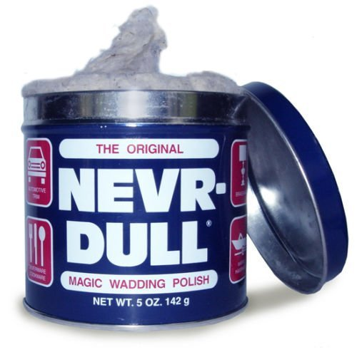 Bestseller The Original (Never) Nevr-Dull Magic Wadding Polish by Nevr-Dull