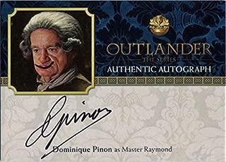 Outlander Season 2 Autograph Card DP Dominique Pinon as Master Raymond Altered