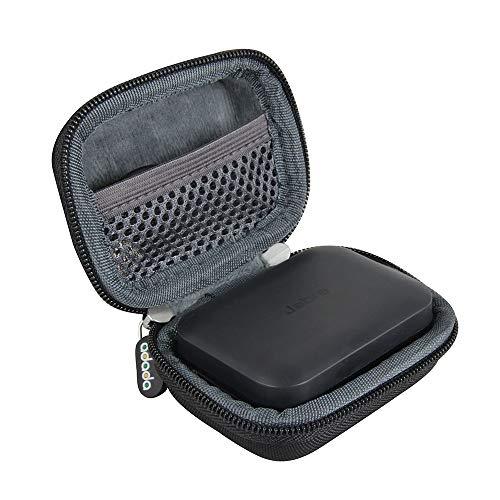 Adada Hartschalen-Reisetasche für Jabra Elite Sport True Wireless Wasserdicht Fitness und Running Earbuds
