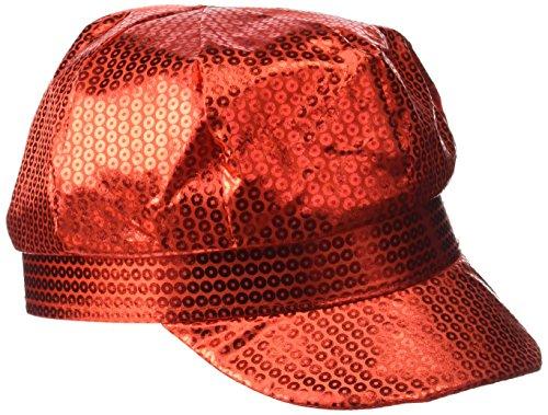 Rire Et Confetti - Fiedis038 - Accessoire pour Déguisement - Casquette Rouge