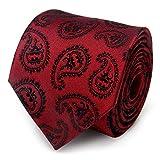 Red Batman Paisley Tie