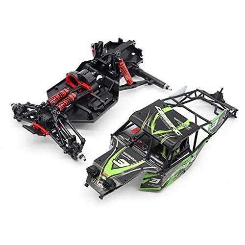 RONSHIN Mando a Distancia para automóvil Adecuado para Feiyue FY03 1:12 Verde Cargador Motor sin escobillas