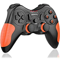 【HIGH PERFORMANCE PRO CONTROLLER】This wireless switch controller supports dual motors motion controls,2 levels vibration feedback,6-axis gyro somatosensory,auto sleep and screenshot functions.Work with Bluetooth within 10m,this switch remote controll...