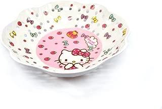Finex Hello Kitty Strainer Colander style Rinse Fruit Bowl Melamine Resin Vegetables & Fruit Drain Basket