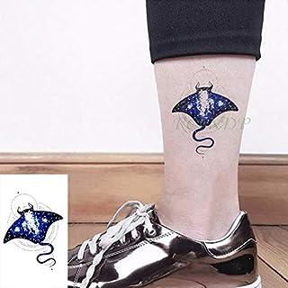 ljmljm 5pcs Tatuaje Impermeable engomada Linda Medusas tamaño ...