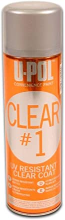U-Pol Products 0796 Clear CLEAR#1 High Gloss Coat - 450ml