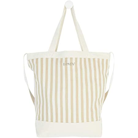 Levi's Women's Striped Shopper, TOTE BAG para Mujer, Talla única