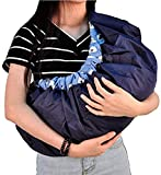 Crawl'in 4-in-1 Polycotton Adjustable Baby Carrier Bag Sling Wrap Bagpack Nursing Pouch
